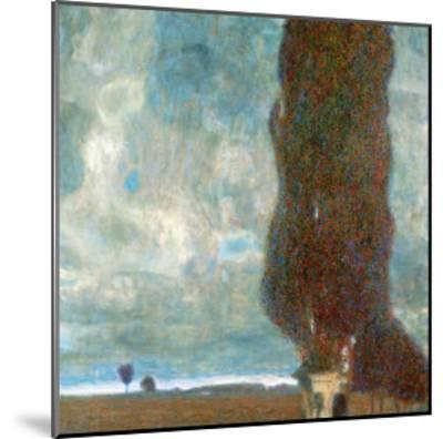 The Large Poplar Tree (II) or Coming Storm-Gustav Klimt-Mounted Giclee Print