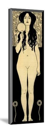 Nuda Veritas (Naked Truth), Inscribed Truth is Fire and to Speak Truth is Shining and Burning-Gustav Klimt-Mounted Giclee Print