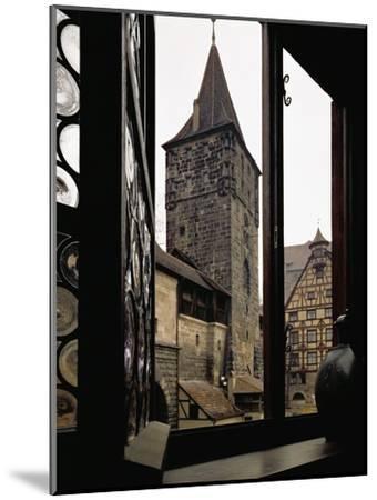 View from Albrecht Duerer's House in Nuernberg, Germany-Albrecht D?rer-Mounted Giclee Print