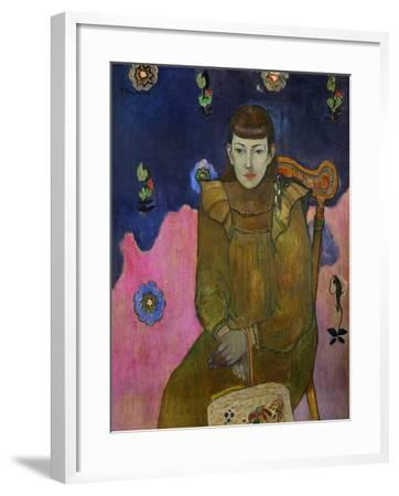Vaiite (Jeanne) Goupil, Daughter of French Public Notary Auguste Goupil of Papeete, Tahiti-Paul Gauguin-Framed Giclee Print