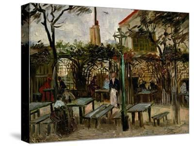 La Guinguette in Montmartre, c.1886-Vincent van Gogh-Stretched Canvas Print