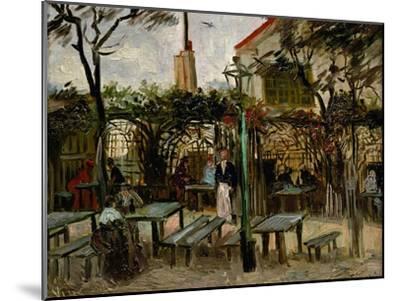 La Guinguette in Montmartre, c.1886-Vincent van Gogh-Mounted Premium Giclee Print