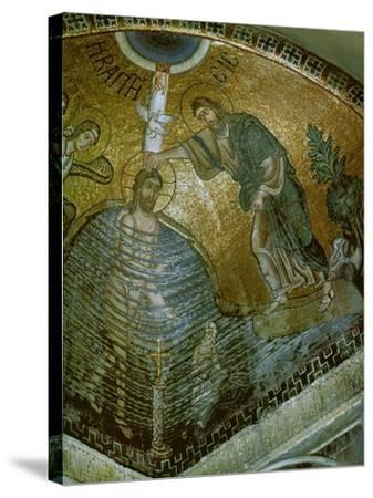 Baptism of Jesus--Stretched Canvas Print