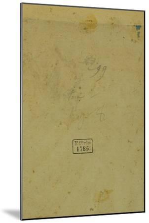 Portrait of a Man-Lorenzo di Credi-Mounted Giclee Print