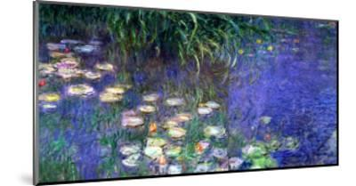 Waterlilies (Les Nympheas), Study of the Morning Water-Claude Monet-Mounted Giclee Print