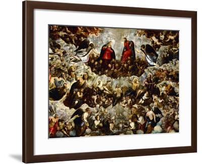 Paradise (Detail)-Jacopo Robusti Tintoretto-Framed Giclee Print