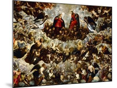 Paradise (Detail)-Jacopo Robusti Tintoretto-Mounted Giclee Print