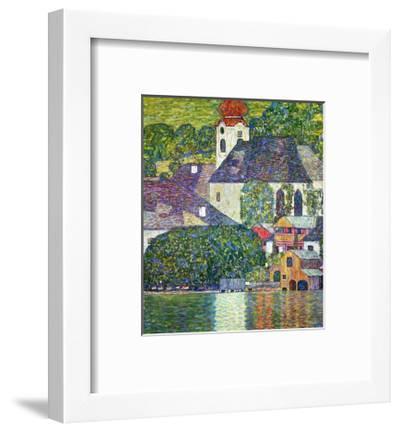 Kirche in Unterach Am Attersee, Church in Unterach on Attersee-Gustav Klimt-Framed Giclee Print