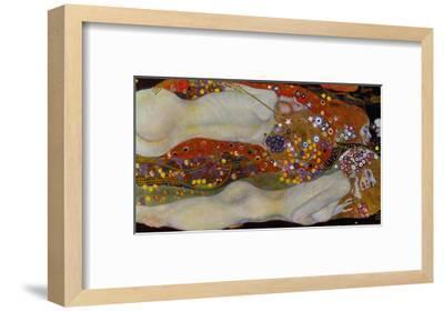 Water Serpents II, c.1907-Gustav Klimt-Framed Premium Giclee Print