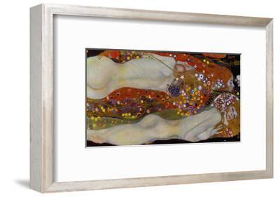 Water Serpents II, c.1907-Gustav Klimt-Framed Giclee Print