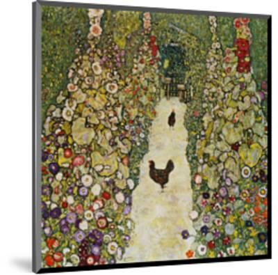 Gardenpath with Hens, 1916-Gustav Klimt-Mounted Giclee Print