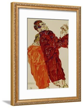 Truth Unveiled, 1913-Egon Schiele-Framed Giclee Print