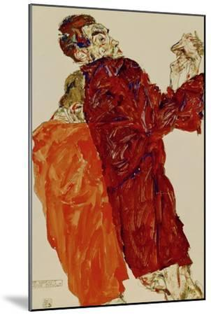 Truth Unveiled, 1913-Egon Schiele-Mounted Giclee Print