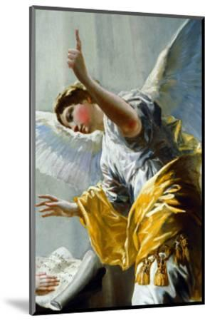 The Annunciation (Detail)-Francisco de Goya-Mounted Giclee Print