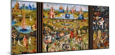 Garden of Delights-Hieronymus Bosch-Mounted Giclee Print