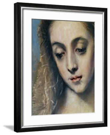 Holy Family with Saint Anne-El Greco-Framed Giclee Print