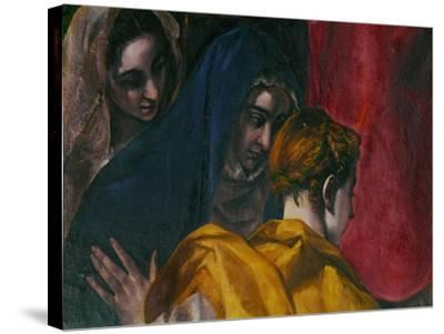 The Disrobing of Christ, 1577-1579-El Greco-Stretched Canvas Print