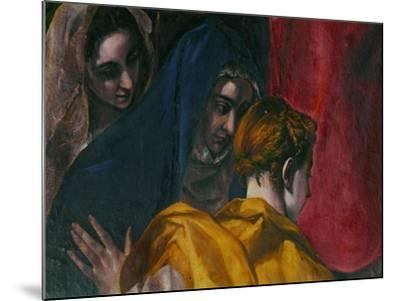 The Disrobing of Christ, 1577-1579-El Greco-Mounted Giclee Print