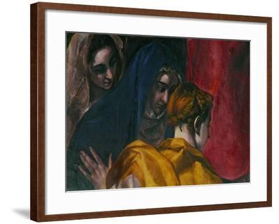 The Disrobing of Christ, 1577-1579-El Greco-Framed Giclee Print