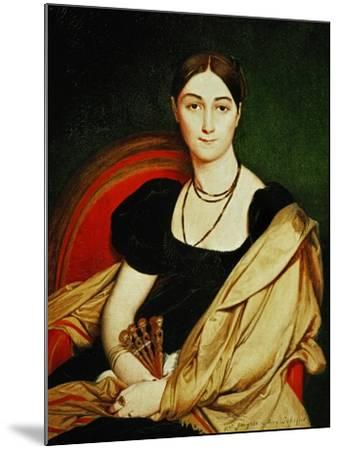 Mme. Antonia De Vaucay, 1807-Jean-Auguste-Dominique Ingres-Mounted Giclee Print