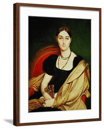 Mme. Antonia De Vaucay, 1807-Jean-Auguste-Dominique Ingres-Framed Giclee Print