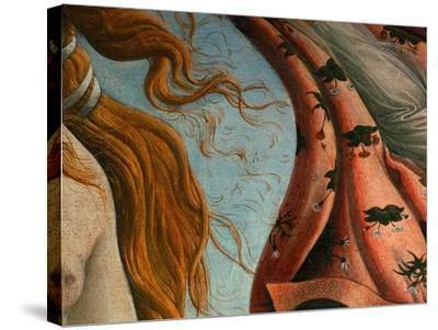 The Birth of Venus (Venus Anadyomene)-Sandro Botticelli-Stretched Canvas Print