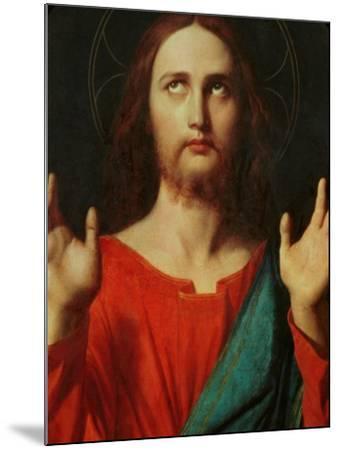 Christ, Tondo-Jean-Auguste-Dominique Ingres-Mounted Giclee Print