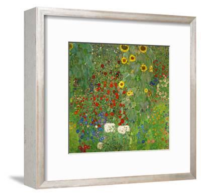 Sunflowers, 1912-Gustav Klimt-Framed Premium Giclee Print