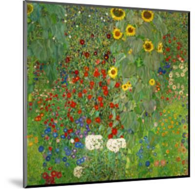 Sunflowers, 1912-Gustav Klimt-Mounted Premium Giclee Print