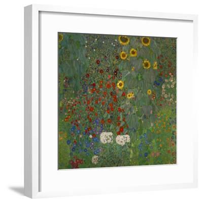 Sunflowers, 1912-Gustav Klimt-Framed Giclee Print