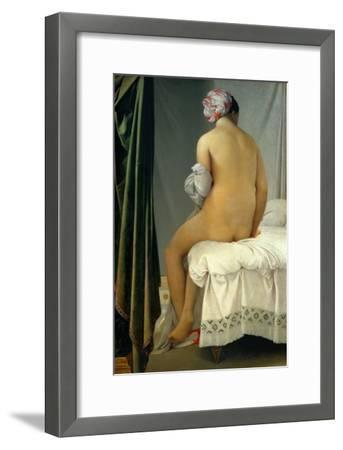 Bathing Woman (Baigneuse De Valpincon), 1806-Jean-Auguste-Dominique Ingres-Framed Giclee Print