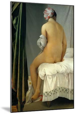 Bathing Woman (Baigneuse De Valpincon), 1806-Jean-Auguste-Dominique Ingres-Mounted Giclee Print