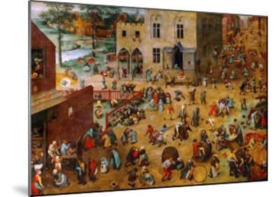 fine art giclee print poster various sizes Children/'s Games Brueghel