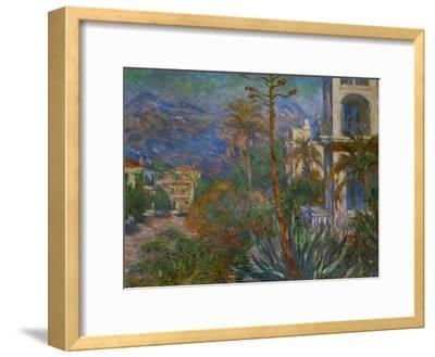 Villas in Bordighera, Italy-Claude Monet-Framed Giclee Print