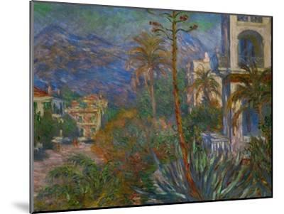Villas in Bordighera, Italy-Claude Monet-Mounted Giclee Print