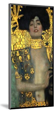 Judith with the Head of Holofernes, 1901-Gustav Klimt-Mounted Premium Giclee Print