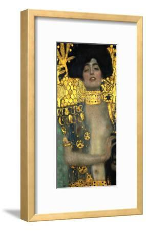 Judith with the Head of Holofernes, 1901-Gustav Klimt-Framed Giclee Print