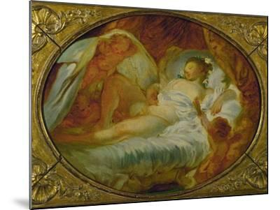 Le Feu Aux Poudres, Before 1770-Jean-Honor? Fragonard-Mounted Giclee Print