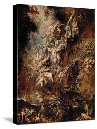 The Fall of the Damned-Peter Paul Rubens-Stretched Canvas Print