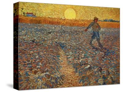 The Sower, c.1888-Vincent van Gogh-Stretched Canvas Print