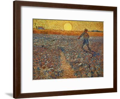 The Sower, c.1888-Vincent van Gogh-Framed Giclee Print