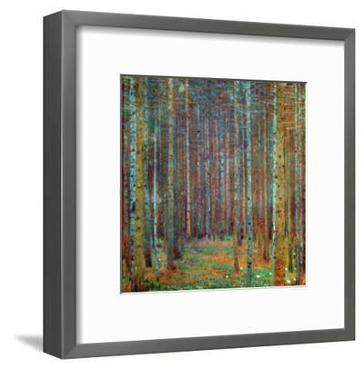 Tannenwald (Pine Forest), 1902-Gustav Klimt-Framed Premium Giclee Print