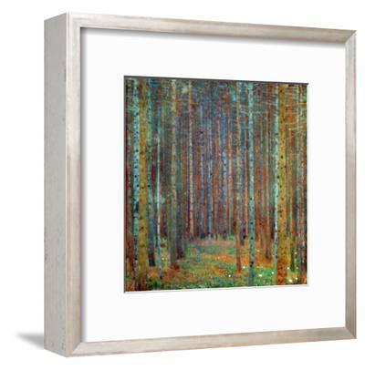 Tannenwald (Pine Forest), 1902-Gustav Klimt-Framed Giclee Print