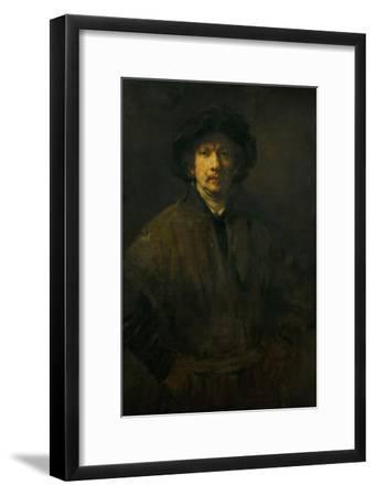 Large Self-Portrait, 1652-Rembrandt van Rijn-Framed Giclee Print