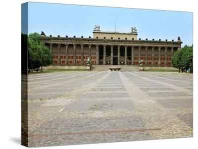 Altes Museum, the Old Museum, Berlin, 1825-Karl Friedrich Schinkel-Stretched Canvas Print