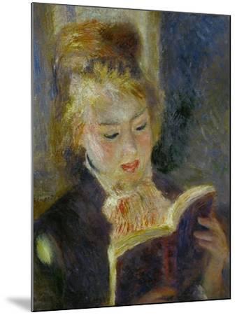 The Reader (La Liseuse), 1874-1876-Pierre-Auguste Renoir-Mounted Giclee Print