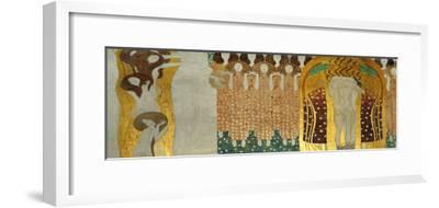 The Final Chorus of Beethoven's 9th Symphony-Gustav Klimt-Framed Giclee Print