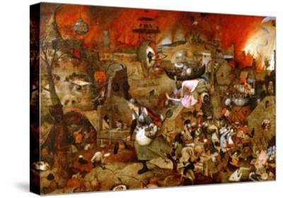 Dulle Griet ('Mad Meg')-Pieter Bruegel the Elder-Stretched Canvas Print