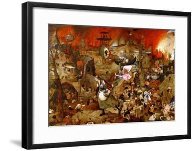 Dulle Griet ('Mad Meg')-Pieter Bruegel the Elder-Framed Giclee Print
