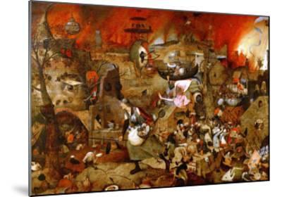 Dulle Griet ('Mad Meg')-Pieter Bruegel the Elder-Mounted Giclee Print